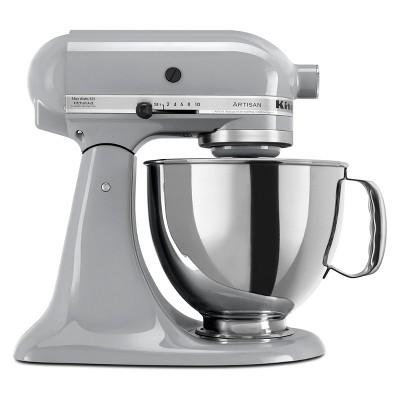 KitchenAid Refurbished Artisan Series 5qt Stand Mixer - Chrome RRK150MC