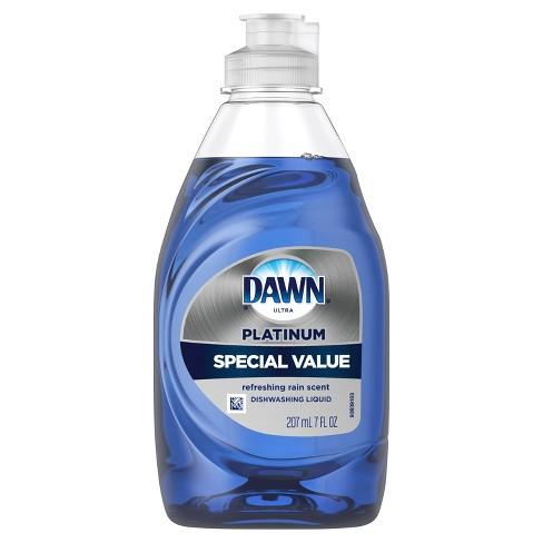Dawn Ultra Platinum Refreshing Rain Scent Dishwashing Liquid Dish Soap - 7 fl oz - image 1 of 4