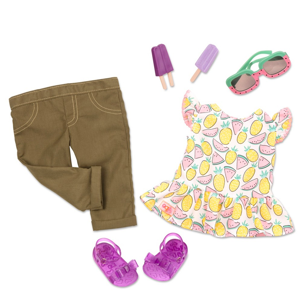 Our Generation Regular Outfit for 18 Dolls - Cutie Fruity