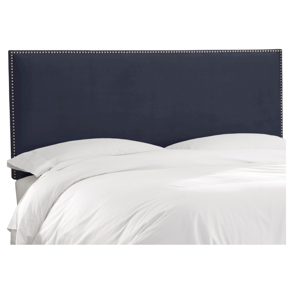 King Arcadia Nailbutton Headboard Mystere Eclipse - Skyline Furniture