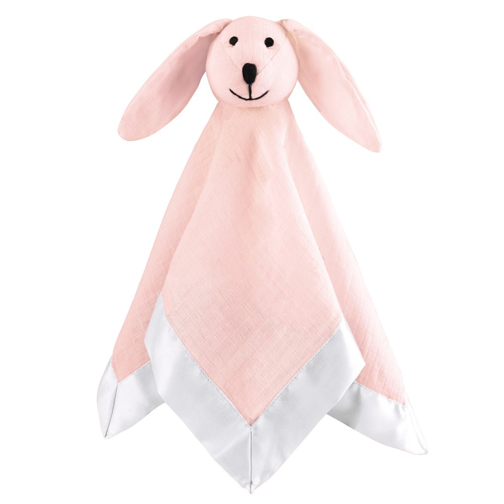 Image of Aden by Aden + Anais Security Blanket Muslin Lovey - Pink Mist - Light Pink