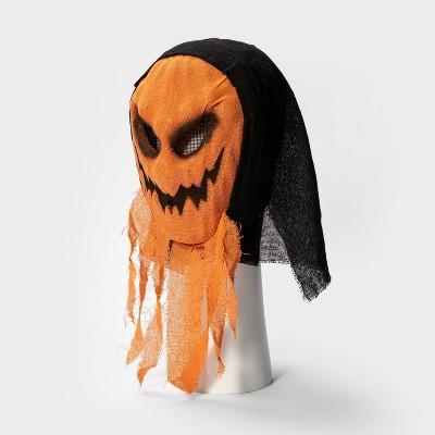 Adult Burlap Ghoul Pumpkin Halloween Mask - Hyde & EEK! Boutique™