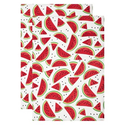 Kitchen Towel Green/Red Set of 2 - Mu Kitchen