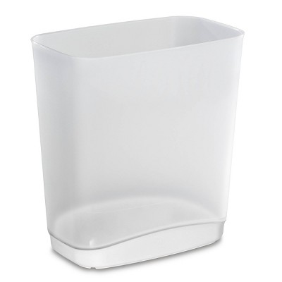 No-lid Trash Can White - Room Essentials™