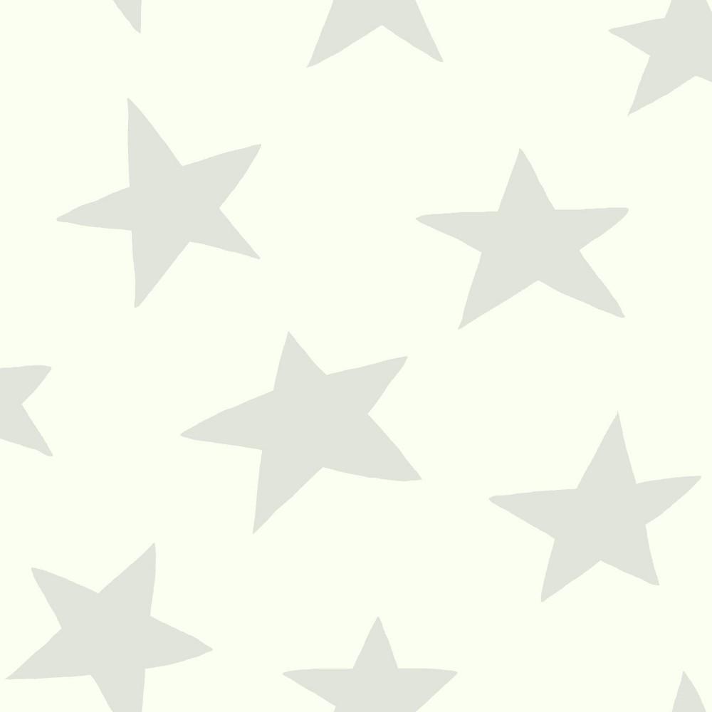 Star Peel & Stick Wallpaper Gray - RoomMates