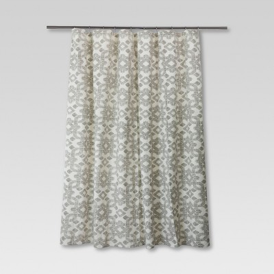 Dashed Shower Curtain - Lattice - Threshold™