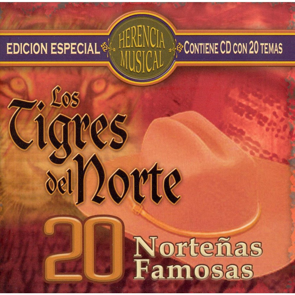 Los Tigres Del Norte - 20 Nortenas Famosas (CD)