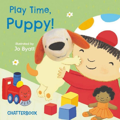 Play Time, Puppy! - (Chatterboox) (Board Book) - image 1 of 1