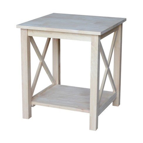 Hampton End Table International Concepts Target