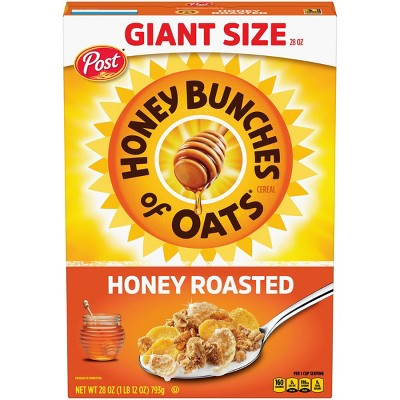 Honey Bunches of Oats Honey Roasted Breakfast Cereal - 28oz - Post