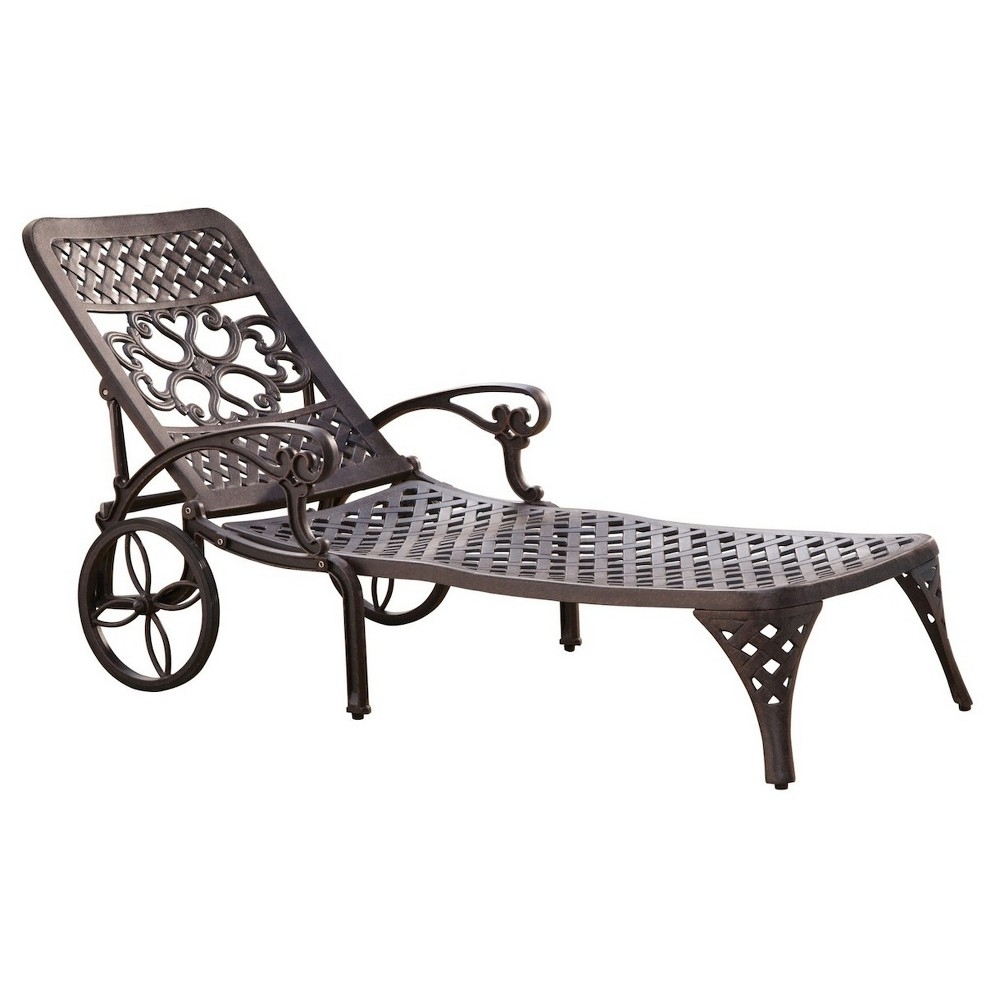Biscayne Bronze Chaise Lounge Chair