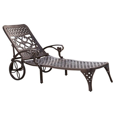 Biscayne Bronze Chaise Lounge Chair - image 1 of 1