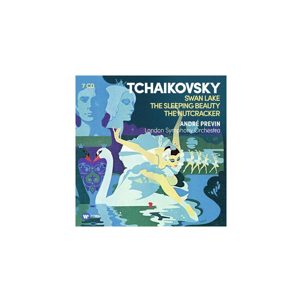 Andre Previn - Tchaikovsky:Ballets (Swan Lake Nutcra (CD)