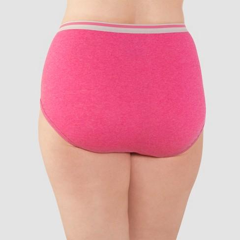 65c953b1f05 Fit For Me® By Fruit Of The Loom® Women s Heather Briefs 5-Pack ...