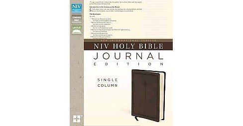NIV Holy Bible Journal Edition : New International Version, Brown, Italian Duo-Tone, Single-Column - image 1 of 1