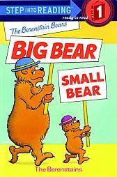 Berenstain Bears Big Bear, Small Bear (Paperback)(Stan Berenstain)