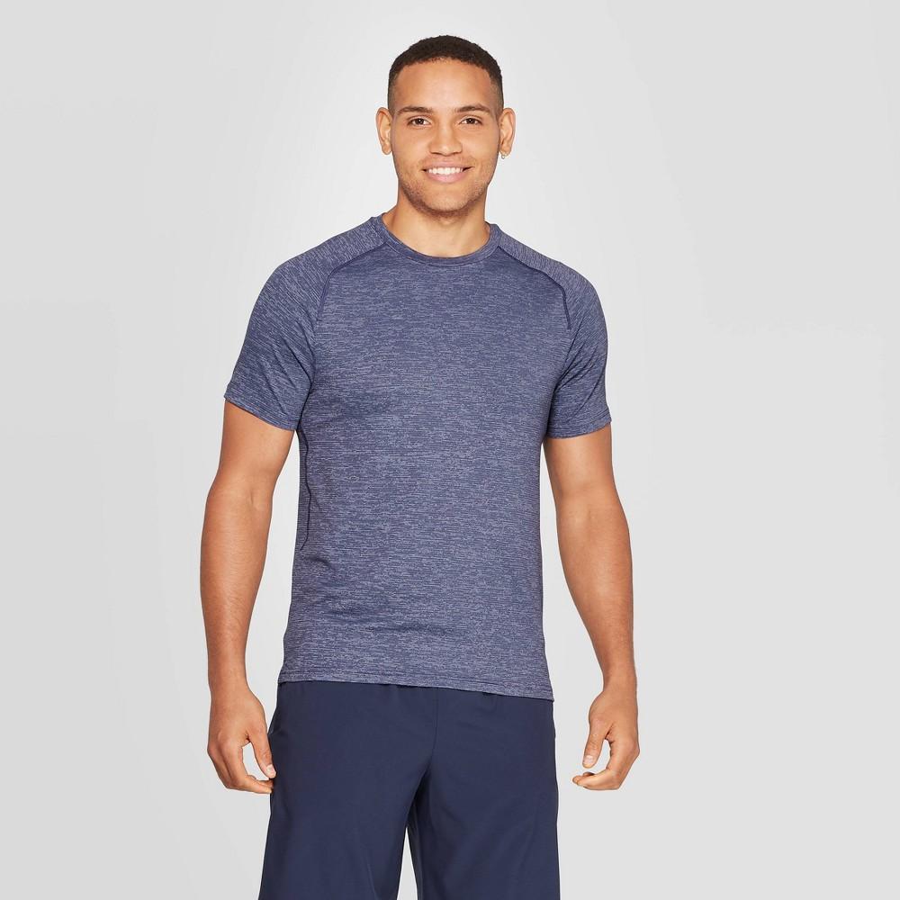 Image of Men's Short Sleeve Nylon T-Shirt - C9 Champion Purple Sensation Heather L, Men's, Size: Large, Purple Sensation Grey
