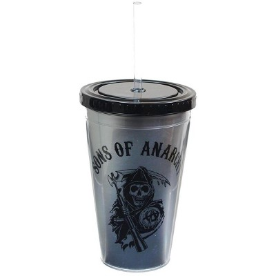 Just Funky Sons of Anarchy Reaper Logo 16oz Carnival Cup