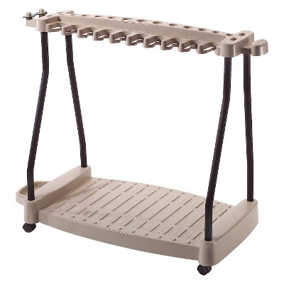 Resin Rolling Tool Cart - Taupe Brown - Suncast