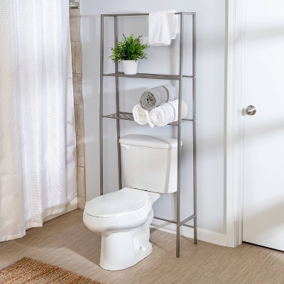 Over-the-Toilet Spacesaver Gray - Honey Can Do