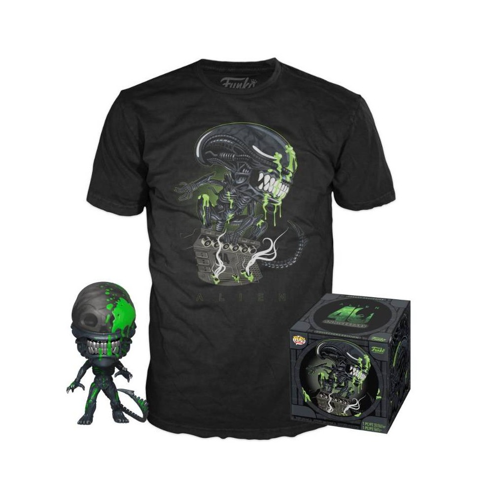 Image of Funko POP! Movies Collectors Box: Alien 40th Anniversary POP! & Tee - L (Target Exclusive), Size: Large