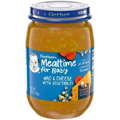 Gerber 3rd Food Glass Mac n Cheese Baby Meals - 6oz