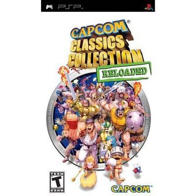 Capcom Classics Reloaded PSP