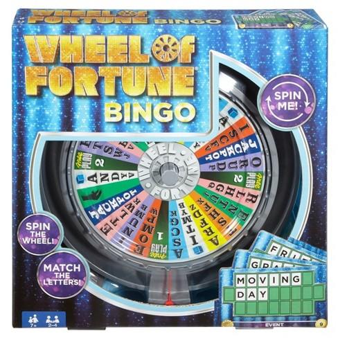 Wheel of Fortune Bingo Game - image 1 of 4