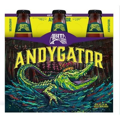 Abita Andygator Helles Dopplebock Beer - 6pk/12 fl oz Bottles