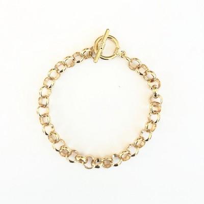 Sanctuary Project Round Chain Link Bracelet Gold