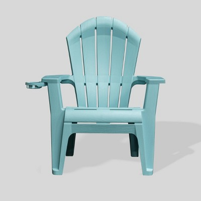 Deluxe RealComfort Adirondack Chair - Turquoise - Adams Manufacturing