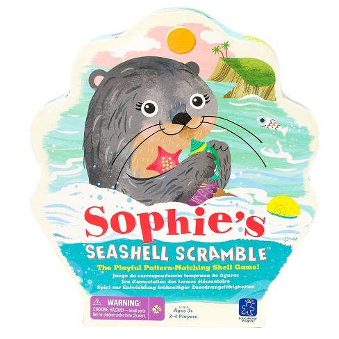 Educational Insights Sophie's Seashell Scramble Game - image 1 of 4