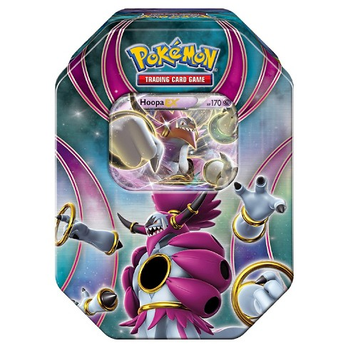 2016 Pokemon Trading Cards Best of EX Tins featuring Hoopa Board Game - image 1 of 2