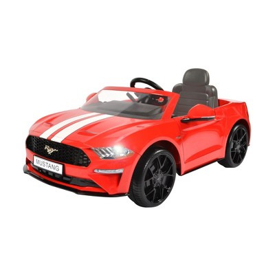 Rollplay Kids' Ride On 6V Ford Mustang - Red