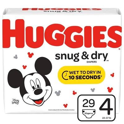 Huggies Snug & Dry Diapers - Size 4 (29ct)