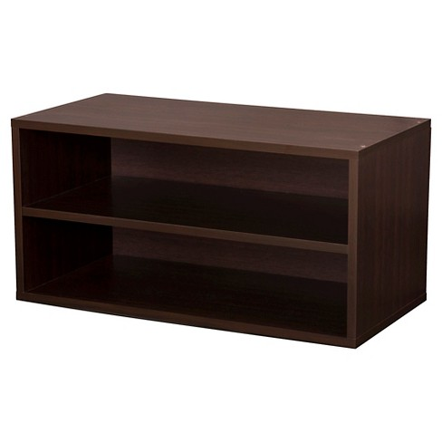 "Large Shelf Cube Espresso 30"" - Foremost - image 1 of 1"