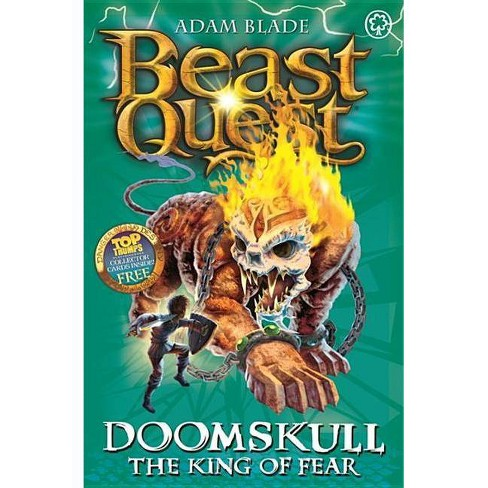 Beast Quest: 60: Doomskull the King of Fear - by  Adam Blade (Paperback) - image 1 of 1