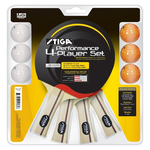 Stiga Performance 4 Player Set - image 1 of 1