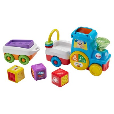 Fisher-Price Laugh and Learn First Words Crawl-along Train