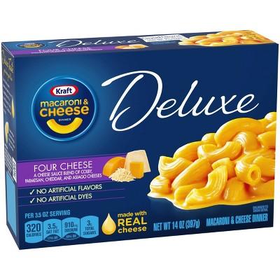 Kraft Macaroni & Cheese Deluxe Four Cheese 14oz