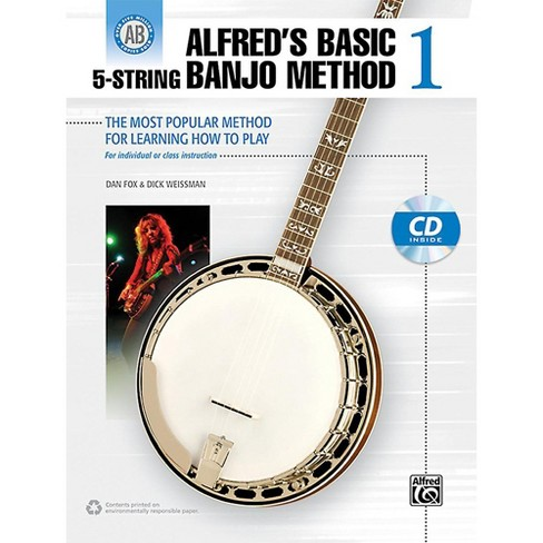 Alfred Alfred's Basic 5-String Banjo Method 1 Book & CD - image 1 of 1