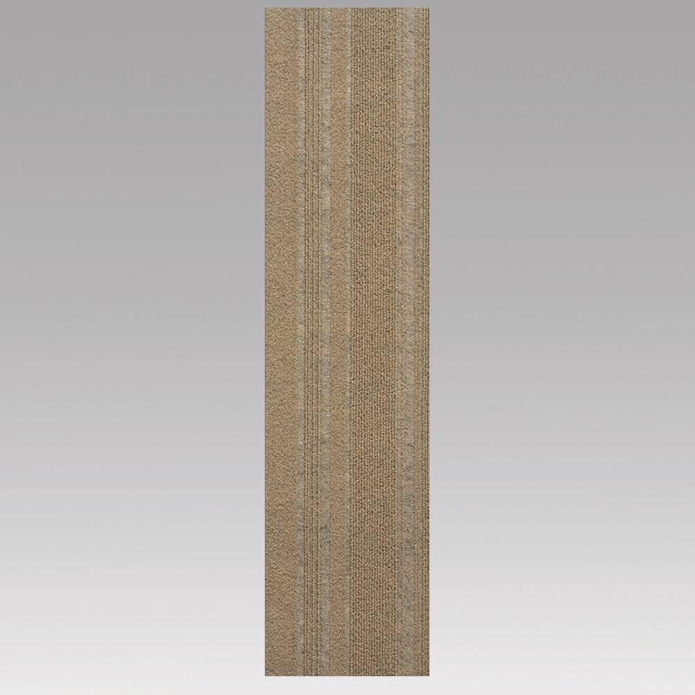 9x36 16pk Self Stick Carpet Tile Chestnut - Foss Floors Top