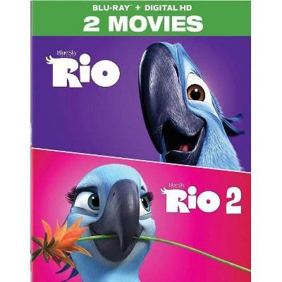 Rio 1 & 2 (Blu-ray)(2017)