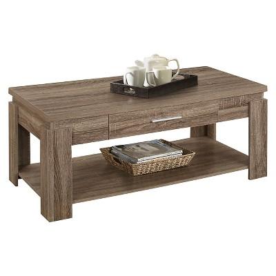 Coffee Table Dark Taupe   ACME