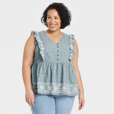 Ivory XS S M L XL XXL Knox Rose™ Women/'s Sleeveless Open Crochet Neck Tank