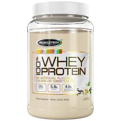 MuscleTech Pure Series Protein Powder - Vanilla - 2lb