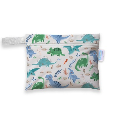 Thirsties Mini Wet Bag - Classic Jurassic