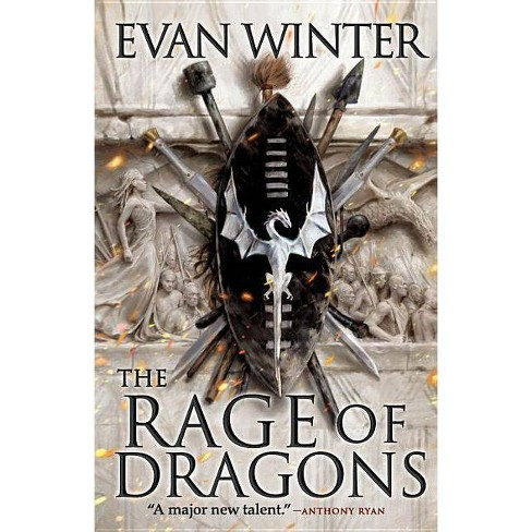 The Rage of Dragons - (Burning) by  Evan Winter (Hardcover) - image 1 of 1
