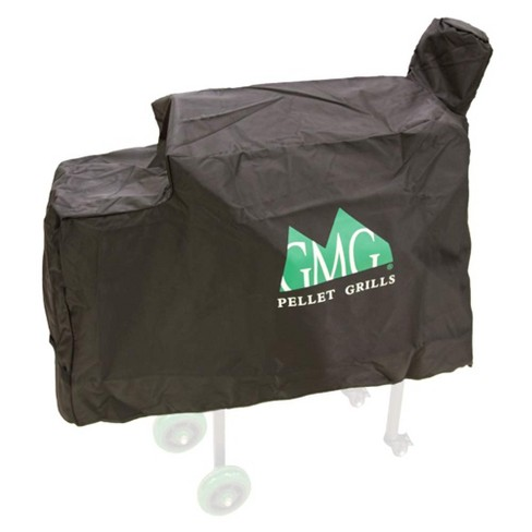 Green Mountain Grills 3001 Daniel Boone Outdoor BBQ Grill Protective Heavy-Duty Weather-Resistant Canvas Cover, Black - image 1 of 1