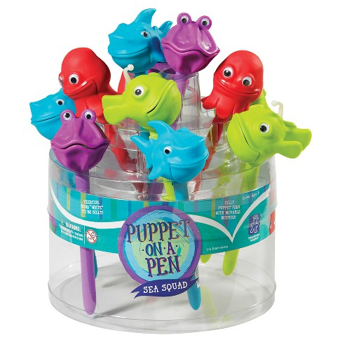 Sea Squad Puppet On A Pen Display Of 24 - image 1 of 1